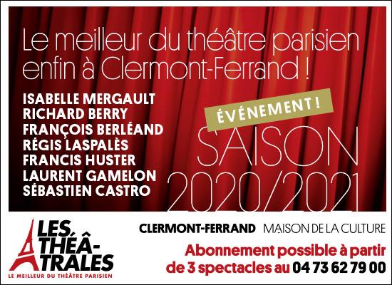 Les Théatrâles 2020-2021 à Clermont-Ferrand