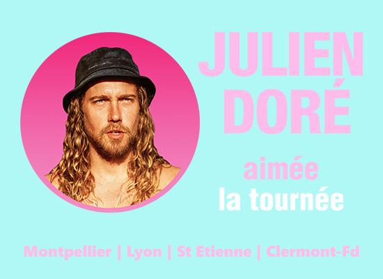 Julien Doré - aimée la tournée