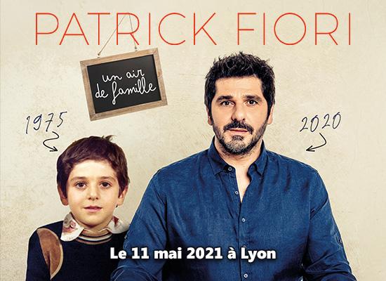 Patrick Fiori en concert - Un air de famille