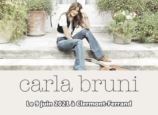 Carla Bruni en concert à Clermont