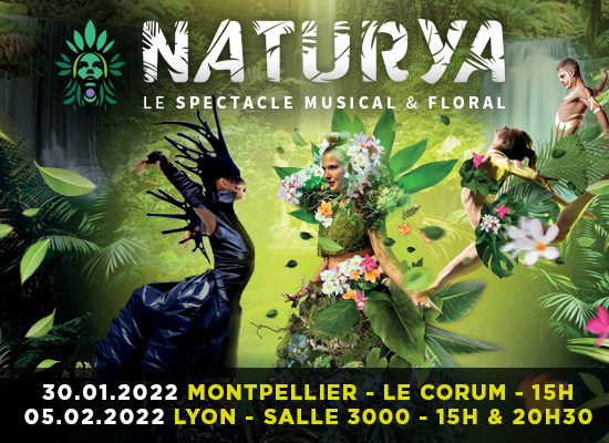 Naturya le spectacle musical et floral